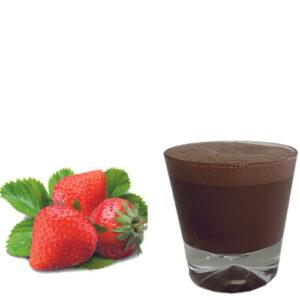 горещ шоколад с ягода